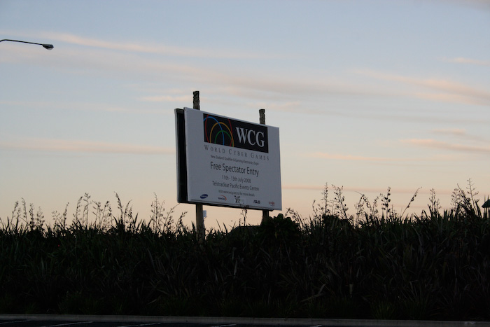 WCG NZ roadside sign